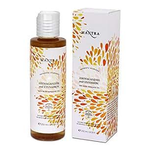Mantra Ashwagandha and Cinnamon Vata Body Massage Oil