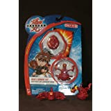 Dan's Bakugan Combat Set - Pyrus Fire Scorpion Trap and Ultra Dragonoid