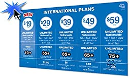 Lyca Mobile Prepaid Dual SIM Card (Micro or Standard) Plan Unlimited Talk USA & Global Text, Data $49 Prefunded Preloaded (Free First Month)