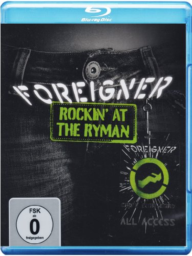 Foreigner - Rockin' At The Ryman [Blu-ray] [2011] [Region A & B]