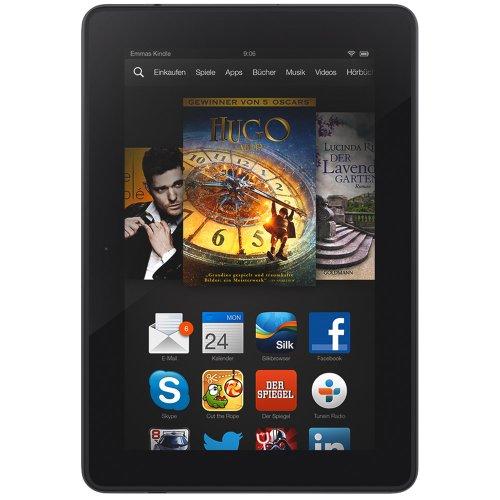 Hot Kindle Fire HDX 7, 17 cm (7 Zoll), HDX-Display, WLAN + 4G LTE, 16 GB - mit Spezialangeboten (Vorgängermodell - 3. Generation)