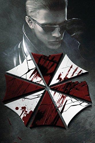 Resident Evil-Portachiavi ufficiale Poster Art