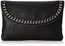 Nine West Off The Chain Clutch, Black, One Size
