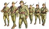 1/35 帝国陸軍歩兵 行軍セット (6体入り) No.FM37