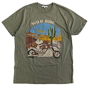 (ジャンクフード)JUNK FOOD メンズ半袖Tシャツ SNOOPY/スヌーピー/PEANUTS/ピーナッツ/チャーリーブラウン [並行輸入品]