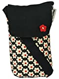 #4: Pick Pocket Women's Sling Bag/Mobile Pouch ( Black & Red,Poblkred157)