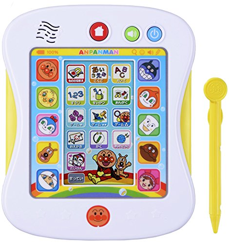 Play the manaberu! Anpanman pad plus