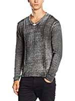 Guess Jersey (Gris Oscuro)