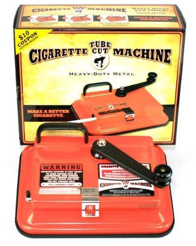 GAMBLER TUBE CUT CIGARETTE MAKING MACHINE - BRAND NEW