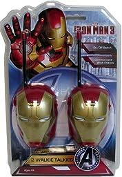 Avengers Iron Man 3 Walkie Talkies