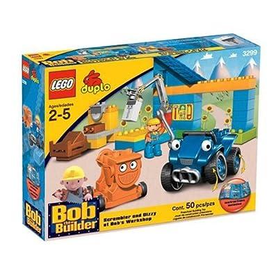 Old Style Bob Minifigure Lego Duplo Bob The Builder