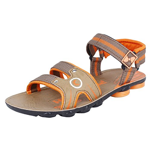 Earton Men's Tan-907 Sandals & Floaters