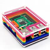 Pibow Rainbow Case B+ for Raspberry Pi B+