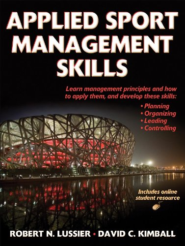 Applied Sport Management Skills  (With Web Resource)
