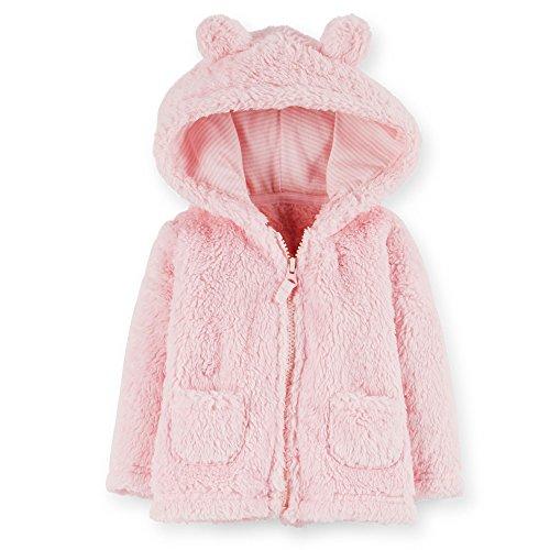 carters-bebe-fille-sherpa-veste-capuche-avec-3d-oreilles-et-poches-3-mois-rose