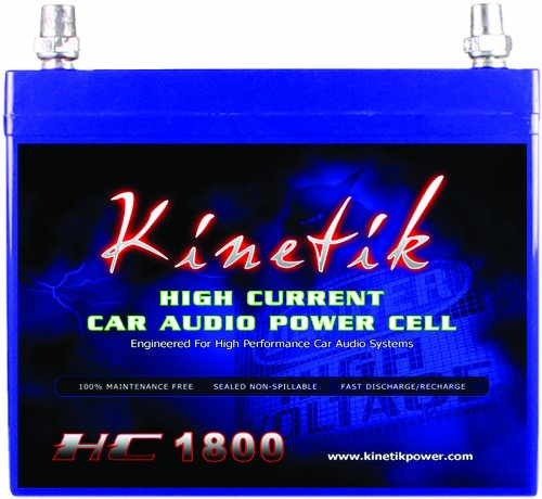Kinetik KHC1800 1800-Watt 12-Vault Power Cell