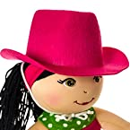 Butterflies™ Doll Pink Cowgirl Hat