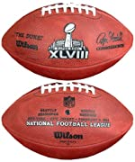 Wilson F1007-48 Official Super Bowl XLVIII Game Football - Seattle Seahawks vs. Denver Broncos