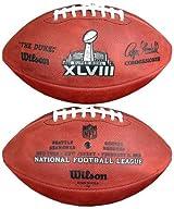 Wilson F1007-48 Official Super Bowl XLVIII Game Football - Seattle Seahawks vs. Denver Broncos