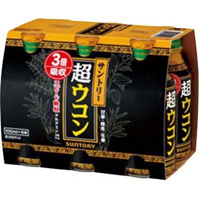 サントリー 超ウコン ボトル缶 100ml×6