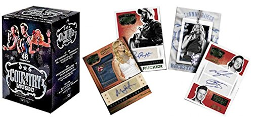 Country Music Country Music Trading Card Blaster Box