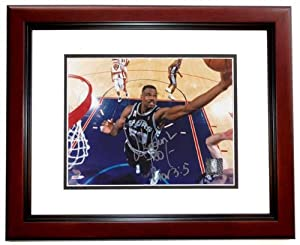 David Robinson Autographed Hand Signed San Antonio Spurs 8x10 Photo - MAHOGANY CUSTOM... by Real+Deal+Memorabilia