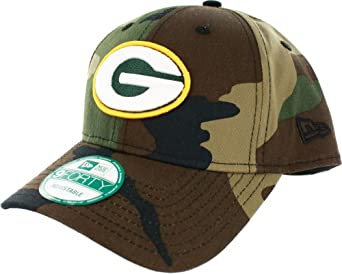 NFL Green Bay Packers Basicamo 9Forty Adjustable Cap by New Era