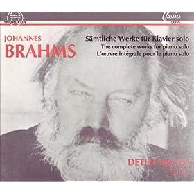 Chaconne von J. S. Bach, D-moll, f�r die linke Hand allein bearbeitet, Studien f�r Pianoforte Nr. 5