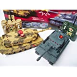 lazer tag r/c game german v usa Infra-Red Laser RC Battle Tank Setby zip