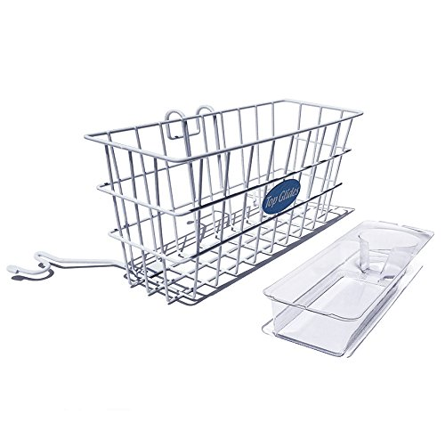 Heavy Duty Clear Plastic Insert/Tray/Cup Holder for Walker Basket (Walker Basket With Insert compare prices)