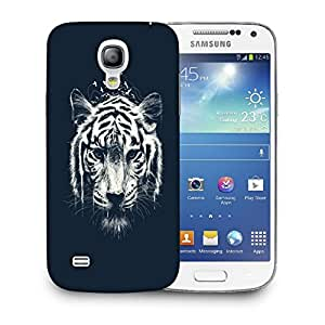 Snoogg Abstract Tiger Designer Protective Back Case Cover For SAMSUNG GALAXY S4 MINI