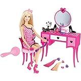 Barbie Hair-tastic Vanity with Doll