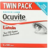 Bausch and Lomb Ocuvite Vitamin and Mineral Supplement for Eyes with Lutein - 240 Tablets