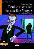 Double assassinat dans la Rue Morgue et La lettre volée - Buch mit Audio-CD (Lire et s'Entraîner - B2)