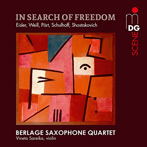 SACD : SHOSTAKOVICH / BERLAGE SAXOPHONE QUARTET - In Search Of Freedom