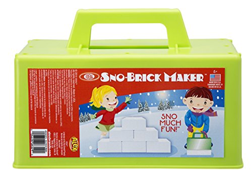 POOF-Slinky – Ideal Sno-Brick Maker for Building Winter Snow Walls, Igloos and Castles, Assorted Colors, 0C8329BL