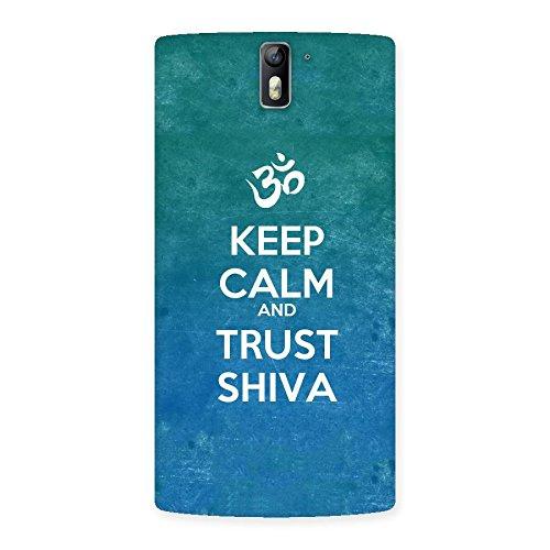 Ajay Enterprises Elite Trust Shiva Lord Back Case Cover for One Plus One