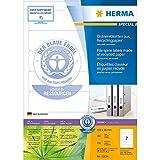 Herma 8620 Ordnerrückenetiketten (A4 Papier matt,...