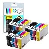 3 Compatible Sets of 4 HP 364 XL Printer Ink Cartridges for HP Photosmart 5510, 5510, 5512, 5514, 5515, 5520, 5524, 6510, 6520, 7510, 7520, B010a, B109a, B109c, B109d, B109f, B109n, B109q, B110a, B110c, B110d, B110e, B8550, B8553, C5380, C5383, C5390, C6