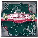 Fox Run 7-Piece Christmas Cookie Cutter Set