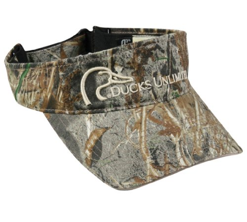 Check Out This Ducks Unlimited® Camo Visor Mossy Oak® Duck Blind®
