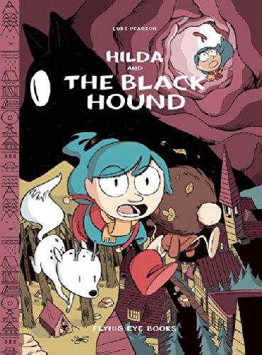 Hilda and the black hound (Hildafolk 4)