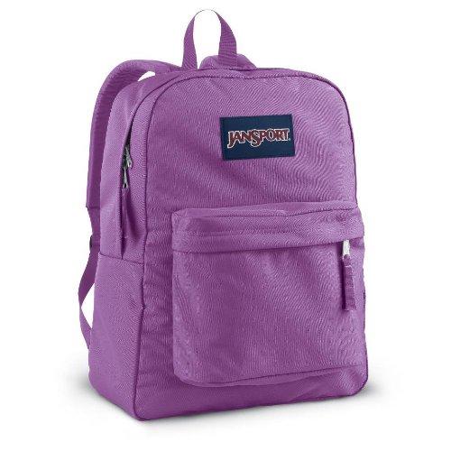 JanSport Classics Series Superbreak Backpack (Purple Slick ...