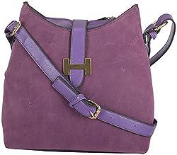 Moda King Women's Handbags (Purple) (ModaKing025)
