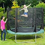 Plum 8ft Fun Space Zone Trampoline with Enclosure