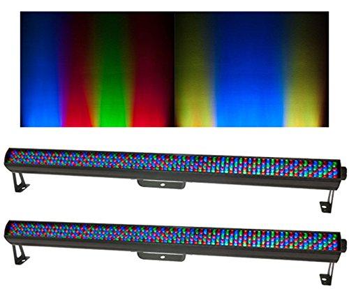 2 Chauvet Colorrail Irc Linear Led Strip Rgb Dmx Wash Effect Lights - Color Rail