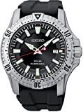 Seiko Men's Diver 200m, Solar Power, Black Rubber SNE293P2