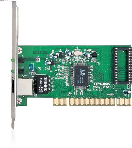 TP-LINK TG-3269 10/100/1000Mbps Gigabit PCI Network Adapter/Card, Include Low-profile Bracket
