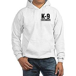 CafePress K-9 Dog Handler Hooded Sweatshirt Narcotics Drug from CafePress