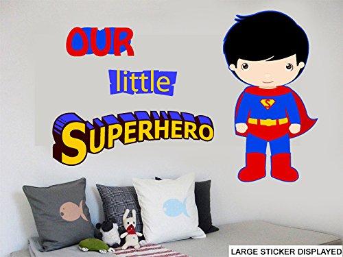 Our Little Superhero-Decorazione da parete PEEL STICK, adesivi & EASY